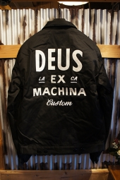 DEUS EX MACHINA Workwear Jacket (BLACK)