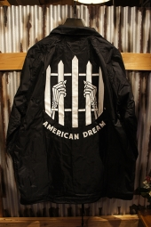 SKETCHY TANK DREAM COACHES JACKET (BLACK)