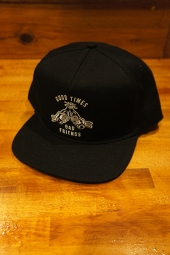 SKETCHY TANK GOOD TIMES SNAP BACK (BLACK)