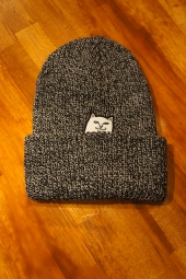 RIPNDIP LORD NERMAL KNIT BEANIE (GRAY SPECKLED)