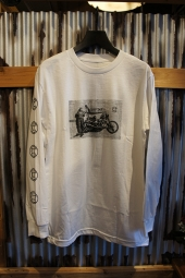 CYCLE ZOMBIES HEEKO L/S T-Shirt (WHITE)