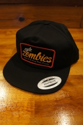 CYCLE ZOMBIES EVERYDAY Unconstructed Hat (BLACK)