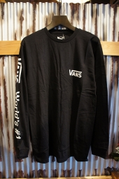 VANS WORLDS NUMBER 1 L/S T-SHIRT (BLACK)