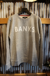 BANKS CLASSIC FLEECE (HEATHER GREY)