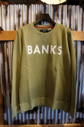 BANKS CLASSIC FLEECE (MOSS)