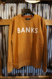 BANKS CLASSIC FLEECE (BURNT KHAKI)