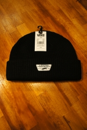 VANS MINI FULL PATCH BEANIE (BLACK)