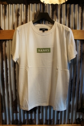 BANKS FORUM TEE SHIRT (OFF WHITE)