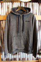 AFENDS Nylon Zip Hood (Black Acid)