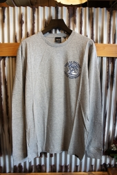 DEUS EX MACHINA COASTIN LS TEE (GREY MARLE)
