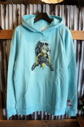 BLIND SKATEBORDS Blind Skull and Banana P/O Fleece (VINTAGETEAL)
