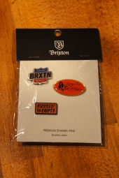 BRIXTON GARTH PIN PACK