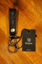 BRIXTON BURNSIDE KEY CHAIN (BLACK)