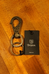 BRIXTON SCROLL KEY CLIP (ANTIQUE BRONZE)