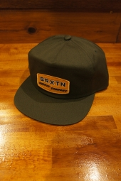 BRIXTON SINCLAIR HP SNAPBACK (OLIVE)