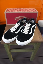VANS OLD SKOOL (HERRINBONE LACE) BLACK/MARSHMALLOW
