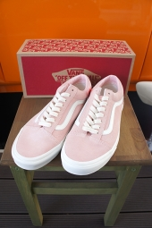 VANS OLD SKOOL (HERRINBONE LACE) ENGLISH ROSE/MARSHMALLOW
