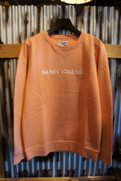 BANKS JOURNAL LABEL FLEECE (FADED PEACH)