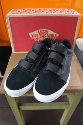 VANS OLD SKOOL V (SURPLUS NYLON) BLACK