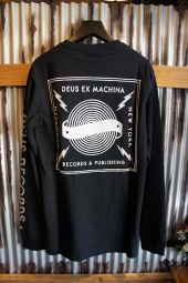 DEUS EX MACHINA KINGSTON LS TEE (BLACK)