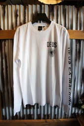 DEUS EX MACHINA SPIRAL LS TEE (WHITE)