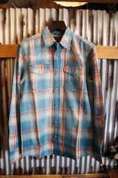 DEUS EX MACHINA BOBBY CHECK SHIRT (TURQUOISE)