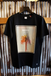BANKS JOURNAL RYAN TATAR AFTERGLOW TEE SHIRT (DIRTY BLACK)