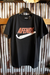 AFENDS JUST DID IT - STANDARD FIT TEE (Black)