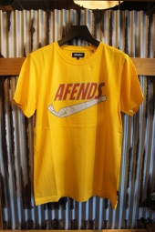 AFENDS JUST DID IT - STANDARD FIT TEE (Canary)
