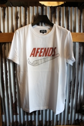 AFENDS JUST DID IT - STANDARD FIT TEE (White)