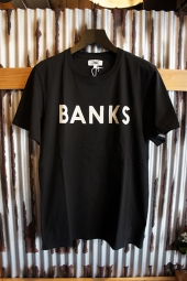 BANKS JOURNAL CLASSIC TEE SHIRT (DIRTY BLACK)