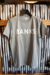 BANKS JOURNAL CLASSIC TEE SHIRT (HEATHER GREY)