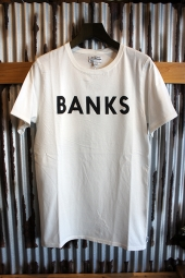 BANKS JOURNAL CLASSIC TEE SHIRT (OFF WHITE)