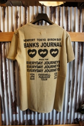 BANKS JOURNAL LOVE STONED TEE SHIRT (DUNE)