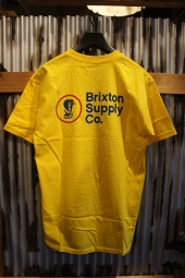 BRIXTON FANG S/S STANDARD TEE (YELLOW)