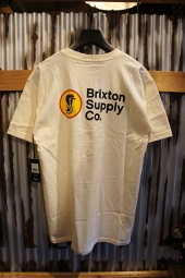 BRIXTON FANG S/S STANDARD TEE (OFF WHITE)
