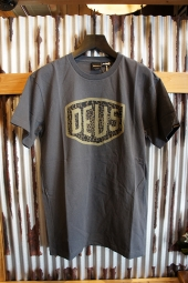 DEUS EX MACHINA VENTURA SHIELD TEE (WASHED BLACK)