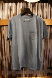 BANKS JOURNAL STAPLE TEXTURE TEE SHIRT (GLACIER BLUE)