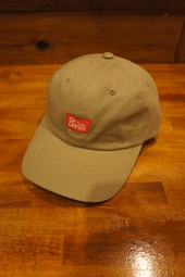 BRIXTON STITH LP CAP (KHAKI/RED)