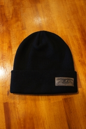 ANTIHERO STOCK EAGLE LABEL CUFF Beanie (BLACK)