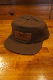 ANTIHERO STANDARD ISSUE EAGLE SNAPBACK (BROWN)
