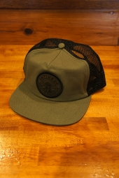 ANTIHERO STAY READY TRUCKER Hat (OLIVE/BLACK)