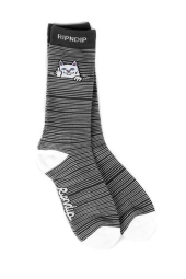 RIPNDIP PEEK A NERMAL SOCKS (BLACK)