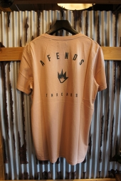 AFENDS THREADS - STANDARD FIT TEE (Rose)