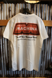 DEUS EX MACHINA BLOC TEE (WHITE)
