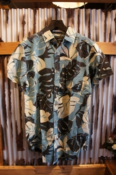 DEUS EX MACHINA RALPH MORNING SHIRT (LEAF FLORAL)