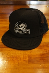 LURKING CLASS BY SKETCHY TANK MESH SNAPBACK CAP (BLACK)