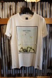 BANKS JOURNAL JOHN HOOK LOUNGING TEE SHIRT (OFF WHITE)