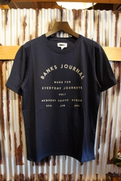 BANKS JOURNAL EASTON TEE SHIRT (DIRTY DENIM)