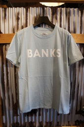 BANKS JOURNAL CLASSIC TEE SHIRT (CLOUD BLUE)